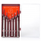 Precision Screw Drivers 6-Piece Set with Case