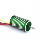 X-TEAM XTI-2440 6250KV 4-Poles Brushless Motor for Driving & Boat - Green