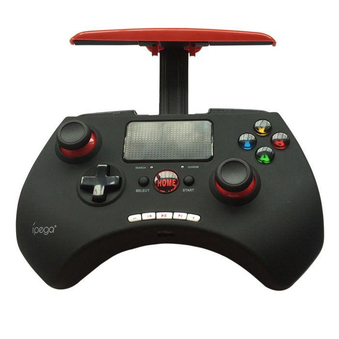 IPEGA PG-9028 Multimedia Bluetooth Game Controller Gameyod JoyStick - Black + Red ipega pg 9021 classic bluetooth v3 0 gamepad for iphone ipod ipad more black