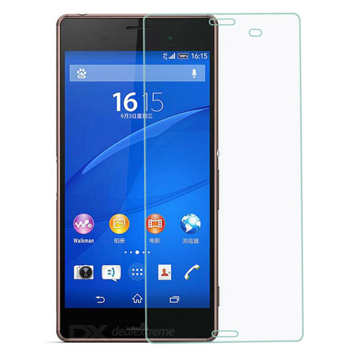 Hat-Prince 2.5D 9H 0.26mm Explosion-Proof Tempered Glass Screen Protector for Sony Xperia Z3 / L55t 2 5d 9h 0 33mm tempered glass screen protector for sony l36h xperia z transparent