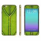 "Stylish Patterned Front + Back Decorative Sticker Set for IPHONE 6 4.7"" - Green"
