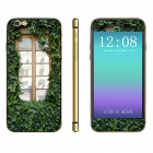 "Stylish Window Pattern Front + Back Decorative Sticker Set for IPHONE 6 4.7"" - Multicolored"