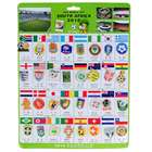 2010 FIFA World Cup 32 Teams Brooches Souvenir Set (34-Piece Set)