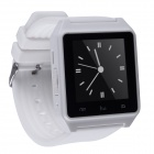 "Aoluguya N39 Smart Watch Phone w/ 1.45"" Screen, Bluetooth, Pedometer, Anti-theft Alarm - White"