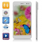 "Mpie T6S Quad-Core Android 4.4.2 WCDMA Bar Phone w/ 5.5"" HD, 2GB RAM, 4GB ROM, Wi-Fi, GPS - White"