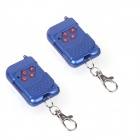 ZnDiy-BRY AkTR68-04B 4-Key 12V 23A Mutual-Duplicating Remote Controllers - Blue (2 PCS)
