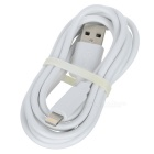 MFi D8 USB to Lightning Data Charging Cable for IPHONE 6 - White (1m)