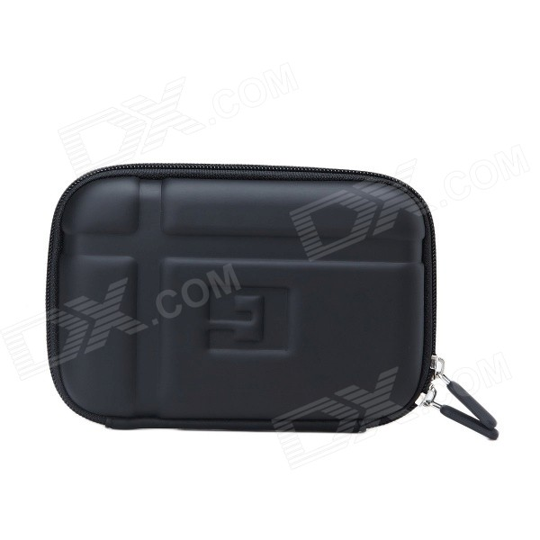 "Protective PU + EVA Bag Case for 5"" TOMTOM GPS Navigator - Black"