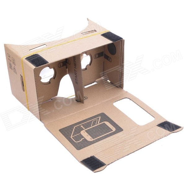 NEJE SZ0048-8 DIY Google Cardboard Virtual Reality 3D Glasses w/ NFC for 5~5.5