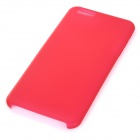 0.3mm Ultra Thin Matte Frosted Protective PP Back Case for IPHONE 6 PLUS - Red + Translucent