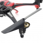 Huaxiang 2.4GHz 4-CH 6-Axis R / C Quadcopter w / giroscópio / Lamp - Red + Black (4 x AAA)