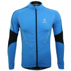 ARSUXEO AR130021 Men's Outdoor Running Cycling Long-sleeved Jersey Top - Blue + Black (XXL)