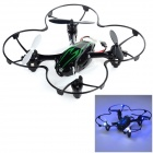 H108C HD 2.4GHz 4-CH R/C Quadcopter w/ 2.0MP Camera / Gyro / Lamp - Black + Green (4 x AAA)