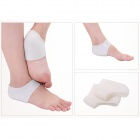 Foot Care Silicone Heel Protectors - White (Pair)
