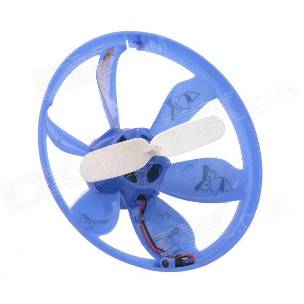 NEJE Auto-induction Hovering Flying Saucer LED UFO Flight w/ LED Suspended Slingshots - Blue