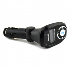 "1 ""LCD Bluetooth V2.1 Handsfree Car Kit w / MP3 Player / Transmissor FM / A2DP - Preto"