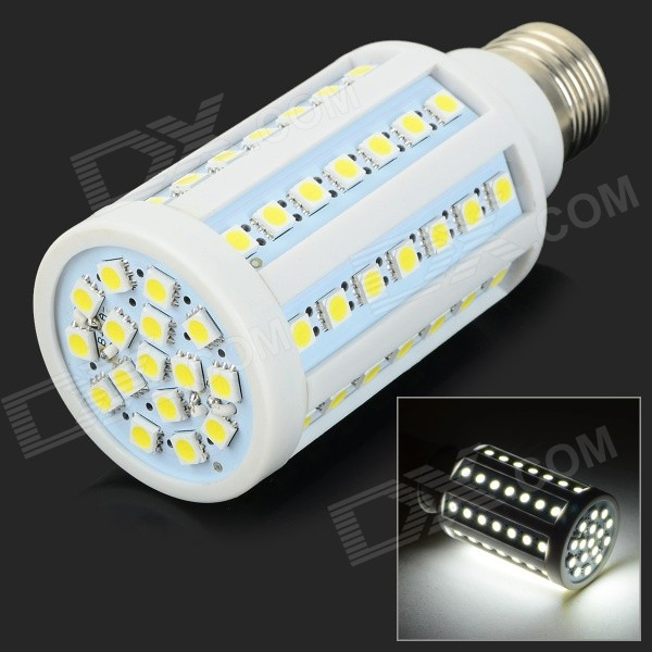 GY-72 E27 10W 1000lm 72-SMD 5050 LED Cold White Corn Lamp (AC220~240V)