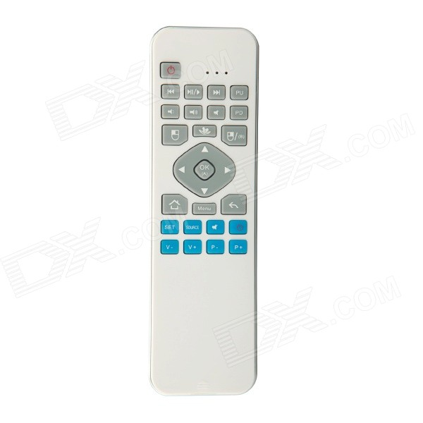 iPazzPort KP-810-30 Mini Wireless Keyboard Somatic Air Mouse Fly Mouse + Learning Infrared IR Remote