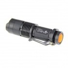 UltraFire SK68 LED 350lm 1-Mode Cold White Zoomable Flashlight Set - Black (1 x 14500)