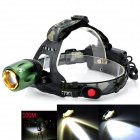 Pange Q13 1000lm 2-Mode Cool White Light LED Zoomable Headlamp - (2 x 18650)