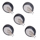 ZnDiy-BRY V-1.0 5.5V 1.0F Buckle Type Farad Capacitor - Black (5 PCS)