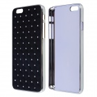 "Diamond Crystal Rhinestone Style Protective PC Back Case for IPHONE 6 4.7"" - Black"
