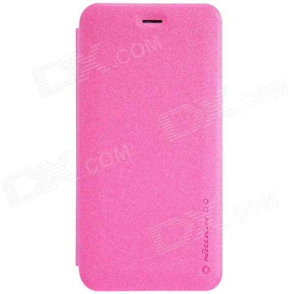 NILLKIN Star Series Protective PU Leather + PC Case Cover for IPHONE 6 Plug 5.5 - Deep Pink nillkin star series protective case for moto g2 pink
