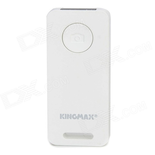 KINGMAX KBS-01 Bluetooth Selfie Remote Control for Smartphones / Tablets - White (1 x CR2032)