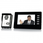 "V70D-L 7"" TFT LCD Video Door Phone - Black (US Plug)"