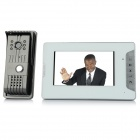 "V70E-F 7"" TFT LCD Video Door Phone - White (US Plug)"