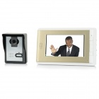 "V70C-L 7"" TFT LCD Video Door Phone - White + Champagne (US Plug)"