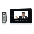 "V70T-M2 7"" TFT LCD Video Door Phone - Black (US Plug)"