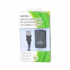 "Replacement ""4800mAh"" Ni-MH Battery + USB Cable Set for XBOX 360 / XBOX 360 Slim Wireless Controller"