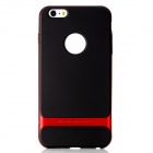 "ROCK RK-ip6P Royce Series Protective PC + TPU Back Case for IPHONE 6 Plus 5.5"" - Red + Black"