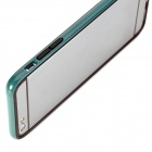 "ROCK Protective TPU + PC Bumper Frame Case for IPHONE 6 Plus 5.5"" - Blue Green + Black"