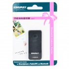 KINGMAX KBS-01 Bluetooth Selfie Remote Control for Smartphones / Tablets - Black (1 x CR2032)
