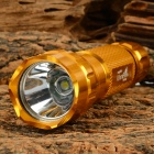 Ultrafire 501B-LZZ 600lm 5-Mode Cool White Light LED Flashlight w/ Strap - Gold (1 x 18650)