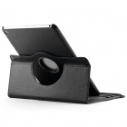 360' Rotating Stand Protective PU Leather Case Cover w/ Auto Sleep for IPAD AIR 2 - Black