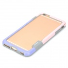 Walnutt Protective Silicone Bumper Frame Case for IPHONE 6 PLUS - Pink + Purple