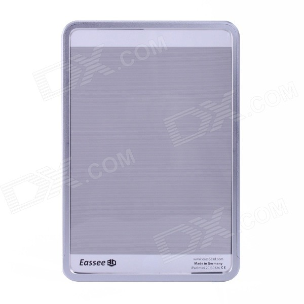 Eassee 3D Aluminum Alloy Bumper Case for iPad Mini - Silver модель дома if the state of science and technology 3d