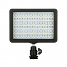 W160 10W 700lm 160-LED Professional Video Light w/ 2-Filter + Cradle Head - Black