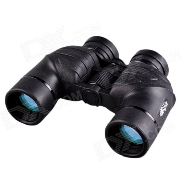 BIJIA  7x42 Waterproof High-power High-definition Nitrogen Binoculars - Black