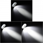 1800lm 3-Mode White Light LED Flashlight w/ Strap - Golden (2 x 18650 / 4 x 18650)