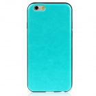 "Hat-Prince Protector Silicone Soft Back Case para iPhone 4,7"" - Azul + Preto"