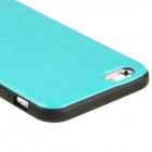 "Hat-Prince Protective Silicone Soft  Back Case for 4.7"" iPhone 6 - Blue + Black"