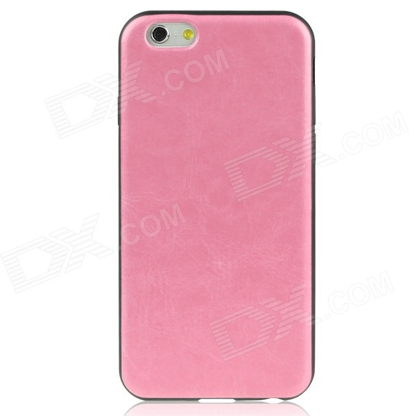 цена Hat-Prince Protective Silicone Soft  Back Case for 4.7 iPhone 6 - Pink + Black