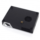 WeShow V3 200lm 1280 x 800 RGB 3-Color DLP HD 3D Mini Home Projector w / HDMI / USB / Audio - Silver