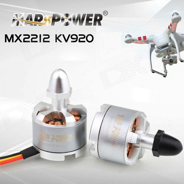 Ares MARSPOWER MX2212 KV920 Self-locking 4-Axis Motor - White