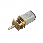 12mm 12GAGB precisión N20 inteligente Lock Reductor Motor - Amarillo (DC 3.0V / 40 rpm)