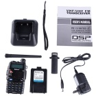 Baiston 588Plus 8W Two-Way Radio Dual Band UHF / VHF 136 ~ 174/400 ~ 470MHz Walkie Talkie Transceiver